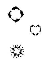 Createx Tattoo Stencil | SET II – Bild 2