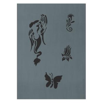 Createx Tattoo Stencil | Sirene
