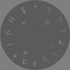 Createx Nail Art Schablone | Wassertiere