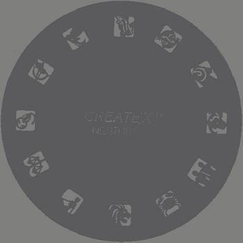 Createx Nail Art Stencil | Asterisk