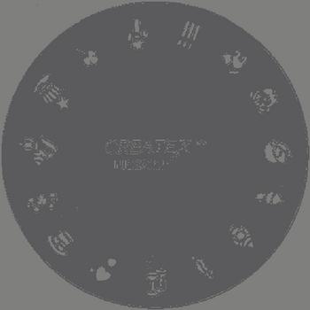 Createx Nail Art Schablone | Feste