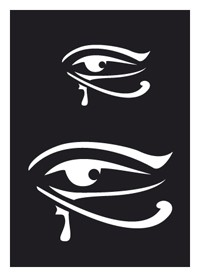 Tattoo Stencil | Self-Adhesive | Egyptian Eye