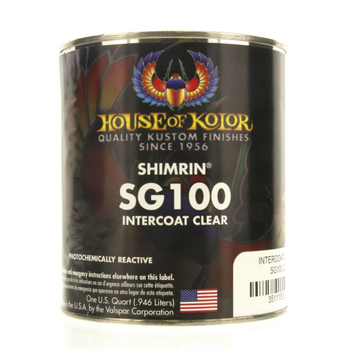 SG100 Intercoat Clear | House of Kolor