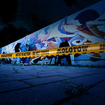 Artist in Action | Caution Belt Molotow | 200m x 7,5cm – Bild 2