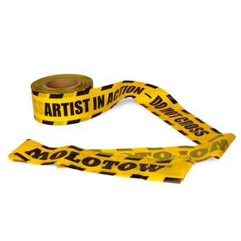 Artist in Action | Caution Belt Molotow | 200m x 7,5cm – Bild 1