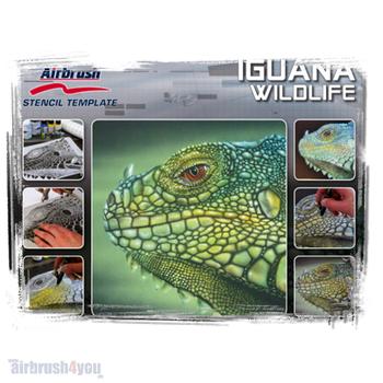 H & S Stencil | Leguan Wildlife
