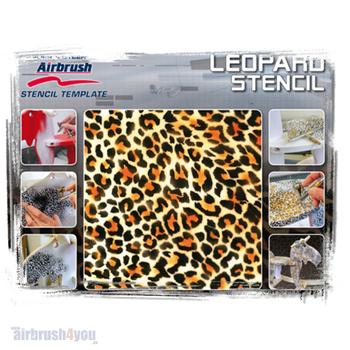 H & S Stencil | Leopard