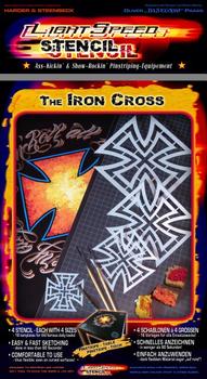 LightSpeed Stencil | Iron Cross – Bild 1