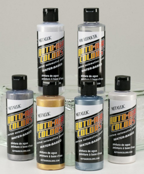 Auto Air | Farbset 6x120ml | Metallic