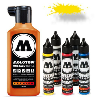 Molotow | One 4 All | 180ml | Zinc Yellow – Bild 2
