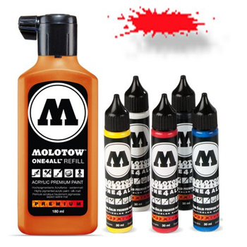 Molotow | One 4 All | 180ml | Traffic Red – Bild 1