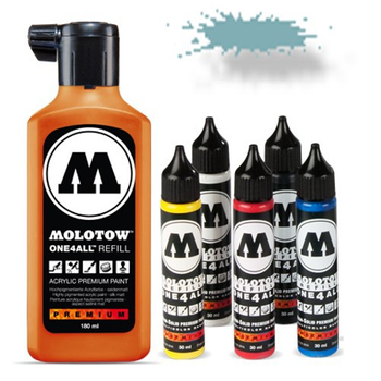 Molotow | One 4 All | 180ml | Lagoblau pastel – Bild 1