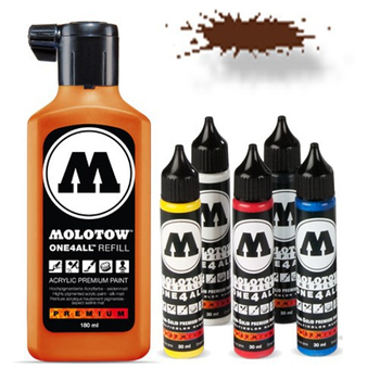 Molotow | One 4 All | 180ml | Haselnuss Braun – Bild 1