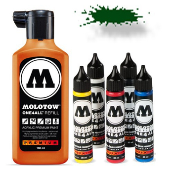 Molotow | One 4 All | 180ml | Future Green – Bild 1