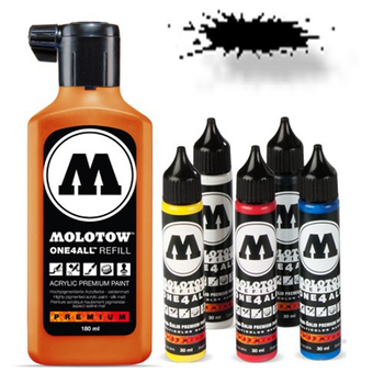 Molotow | One 4 All | 180ml | Signal Black – Bild 1