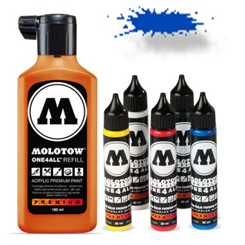 Molotow | One 4 All | 180ml | ture blue – Bild 1