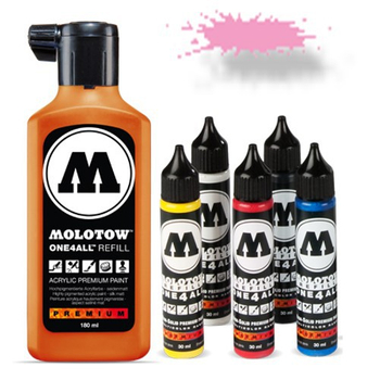 Molotow | One 4 All | 180ml | Neon Pink fluorescent – Bild 1