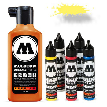 Molotow | One 4 All | 180ml | Neon Gelb fluores. – Bild 1