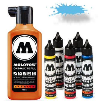 Molotow | One 4 All | 30ml | Shock blue middle – Bild 1