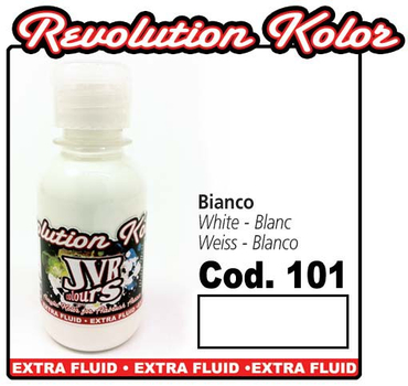 JVR Kolor | 130ml | 101 opak white