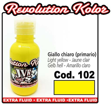 JVR Kolor | 130ml | 102 opak Yellow