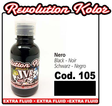 JVR Kolor | 130ml | 105 opak black