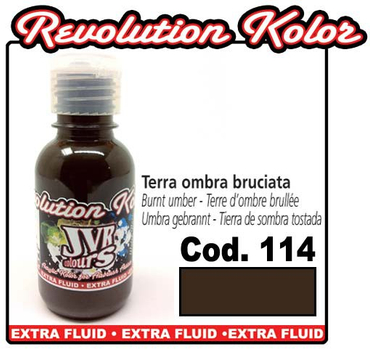 JVR Kolor | 130ml | 114 opak burnt umber