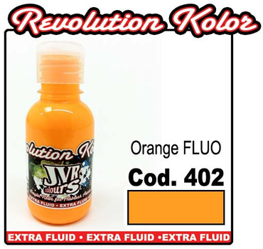 JVR Kolor | 130ml | 402 fluor orange