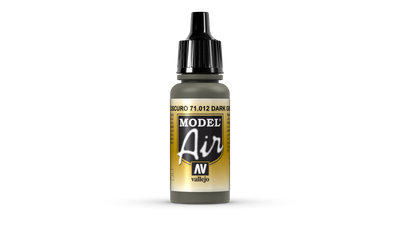 Vallejo Model Air | 17ml | 012 | Dark Green
