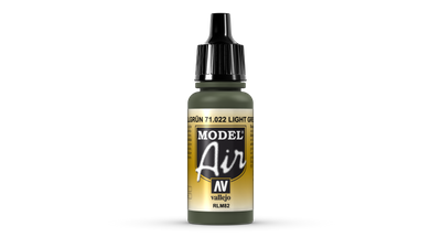 Vallejo Model Air | 17ml | 022 | Camouflage Green