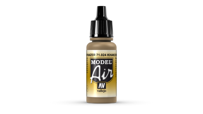 Vallejo Model Air | 17ml | 024 | Khaki_Brown – Bild 1