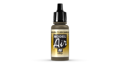 Vallejo Model Air | 17ml | 029 | Dark Earth