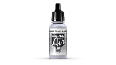 Vallejo Model Air | 17ml | 062 | Aluminium – Bild 1