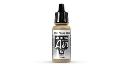 Vallejo Model Air | 17ml | 066 | Gold – Bild 1