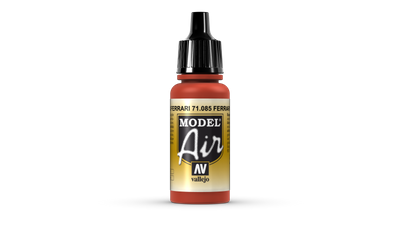 Vallejo Model Air | 17ml | 085 | Italien Red – Bild 1