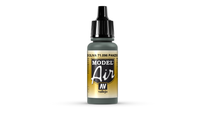 Vallejo Model Air | 17ml | 096 Panzer Olivegreen – Bild 1