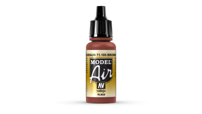 Vallejo Model Air | 17ml | RLM_26_brown – Bild 1
