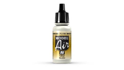 Vallejo Model Air | 17ml | White Grey
