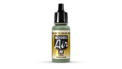 Vallejo | Model Air | 17ml | IDF Green – Bild 1