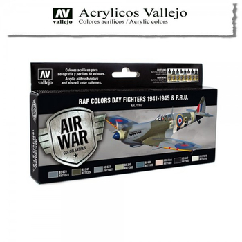 Vallejo | Air War | RAF Colors Day Fighters 1941-1945 & P.R.U.