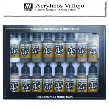 Vallejo Model Air | 16er Set | WWII German Color