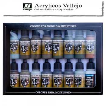 Vallejo Model Air | 16er Set | RLM