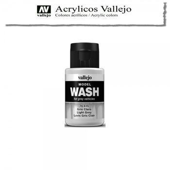 Vallejo | 35ml Model Wash | 515 Light Grey