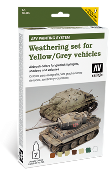 Vallejo | AFV Weathering |  Yellow & Grey