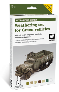Vallejo | AFV Weathering | Green Vehicles