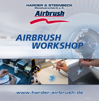 "DVD | Airbrush Workshop"" von Harder & Steenbeck"