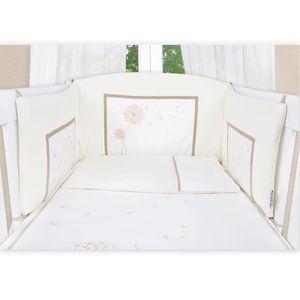 5-tlg. Babybettset Elegance in Weiß – Bild 3
