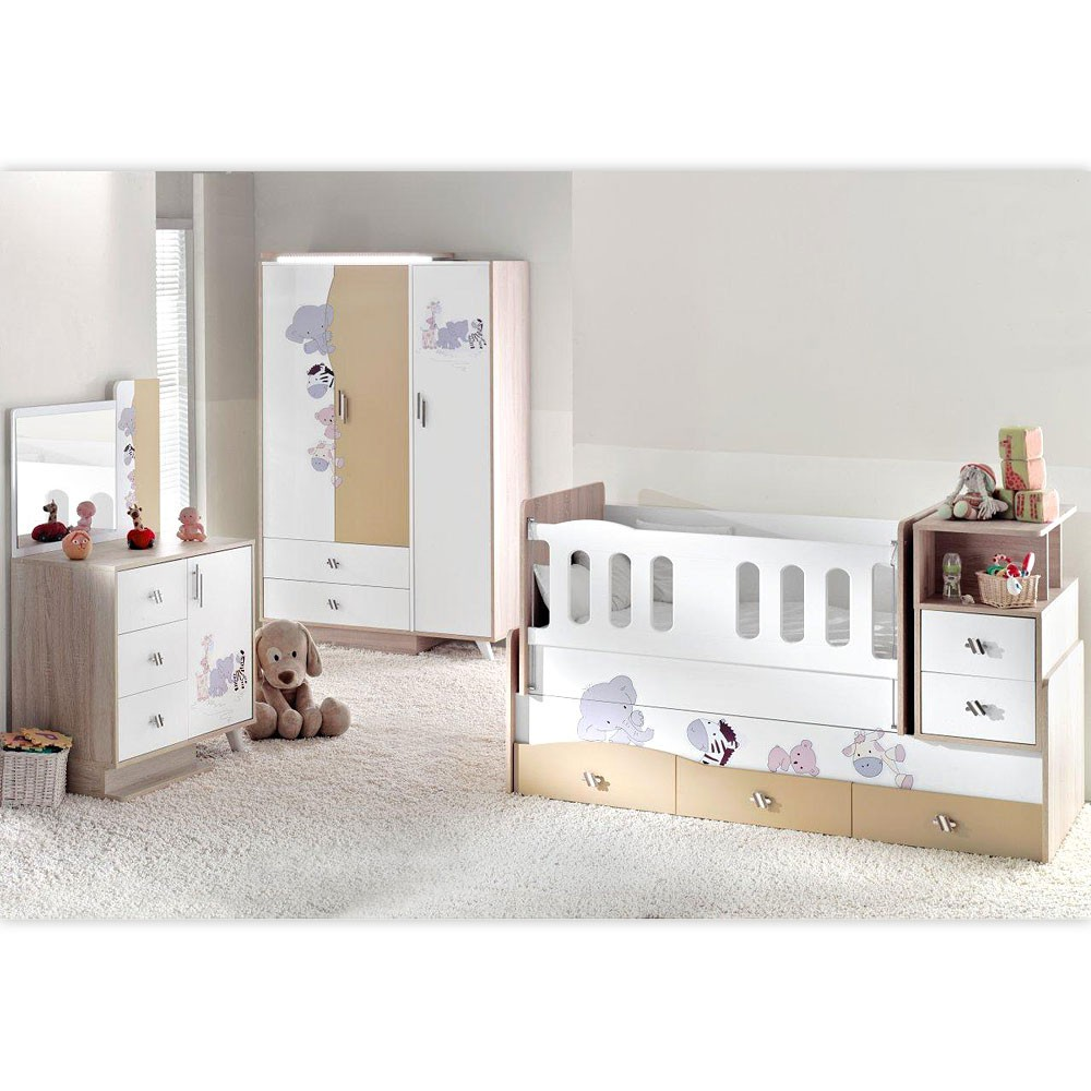 komplett babyzimmer simple babyzimmer in wei b cm b with. Black Bedroom Furniture Sets. Home Design Ideas