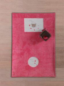 Babyzimmer Teppich Kinderzimmer Wellsoft Spielteppich Cute Bear Rosa 120 x 170cm