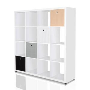 2er Set Faltbox in der Farbe Schwarz 34 x 34 cm Faltkiste Regalkorb Regalbox Kinderbox Einschubkorb Aufbewahrungsbox Stoffbox – Bild 5